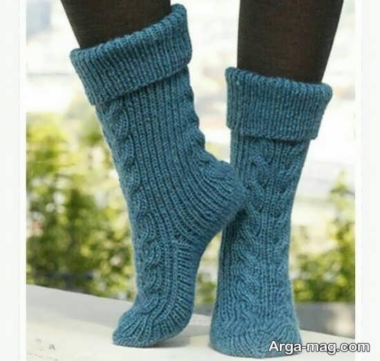 مدل عالی بافت جوراب