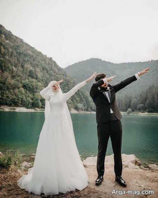 فیگور عروس داماد در آتلیه