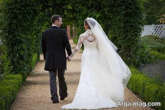مدل فیگور عروس و داماد در آتلیه