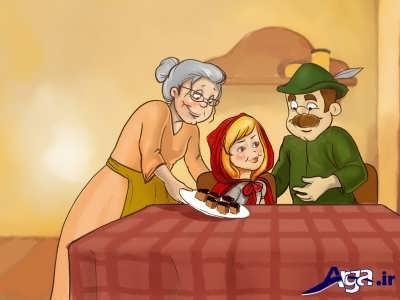 شنل قرمزی و مادر بزرگش