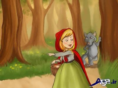 داستان شنل قرمزی و گرگ