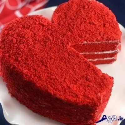 کیک مخملی خوشمزه و خوش طعم