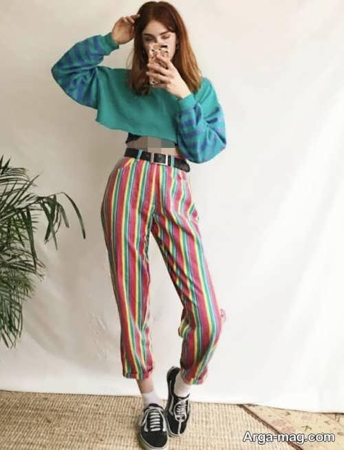 شلوارهای زنانه پارچه ای مدرن