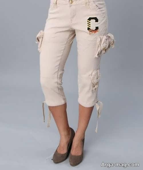 شلوارهای زنانه پارچه ای قشنگ