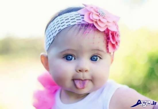 عکس های زیبا و جذاب از کودکان بامزه
