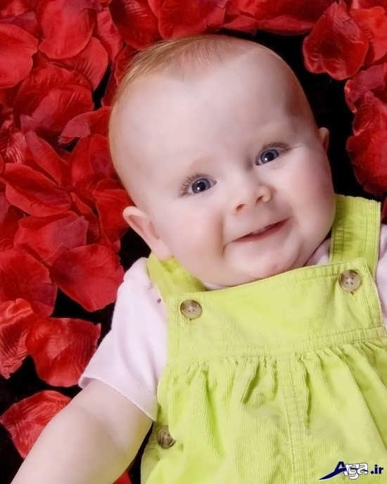 عکس بچه های خوشگل و بامزه با ژست های دوست داشتنی