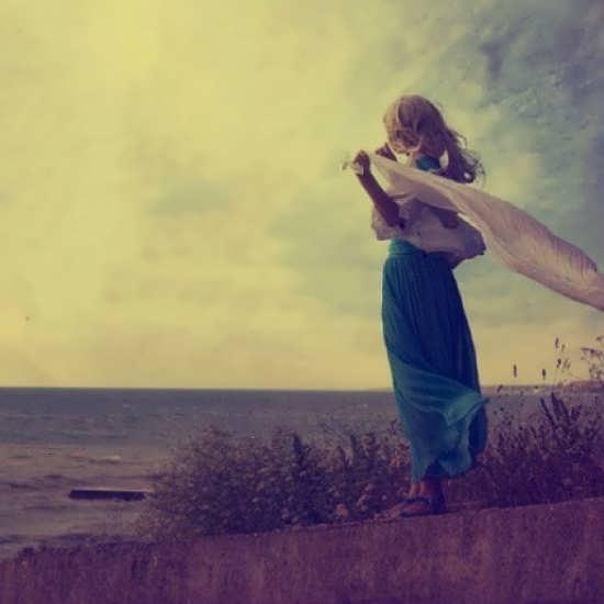 تصاویر غم انگیز و عاشقانه دخترانه