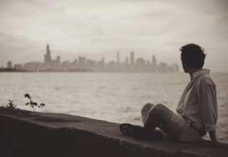 عکس تنهایی و عاشقانه غمگین