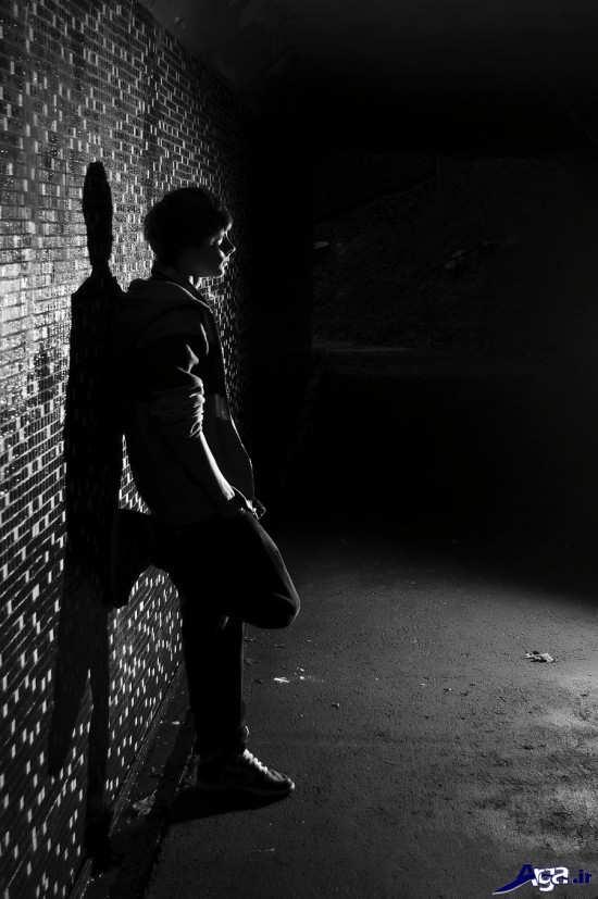 عکس های غمگین تنهایی