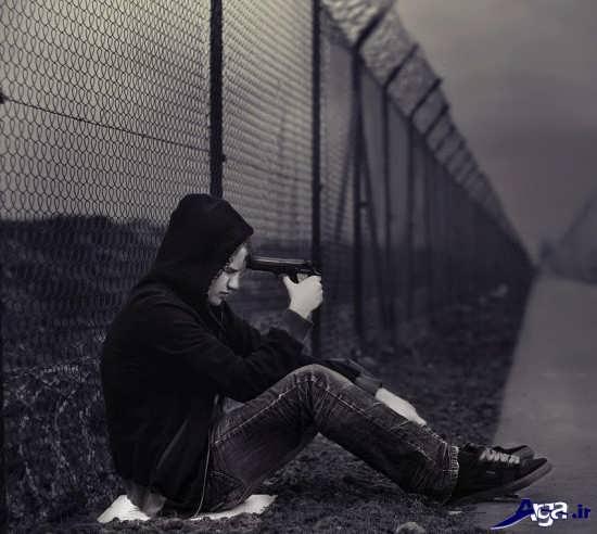 عکس های عاشقانه تنهایی