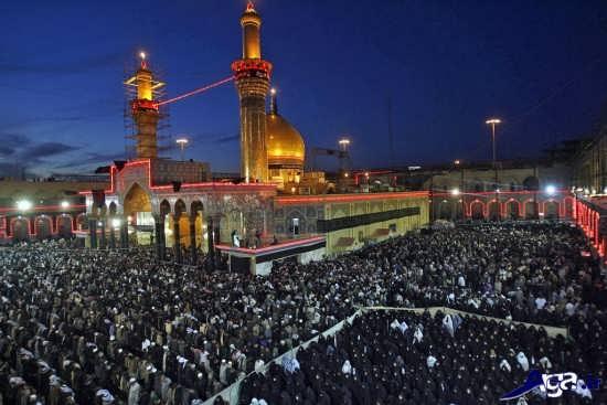 عکس های زیبا و جذاب از حرم امام حسین