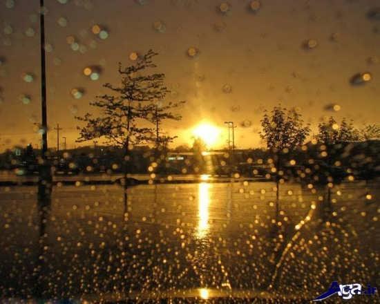 مجموعه تصاویر بارانی زیبا