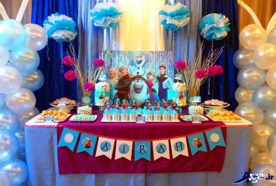 تم زیبا برای جشن تولد کودکان