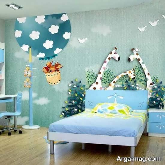 اتاق خواب کودکان با دکوراسیونی جدید