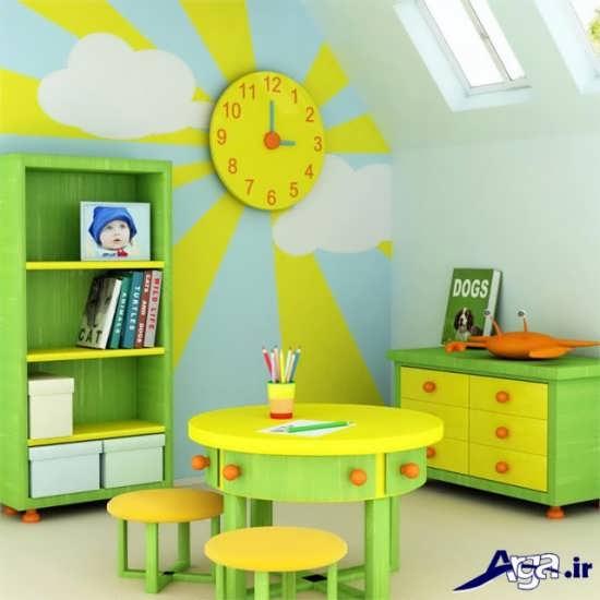 طراحی دکوراسیون داخلی اتاق خواب کودک