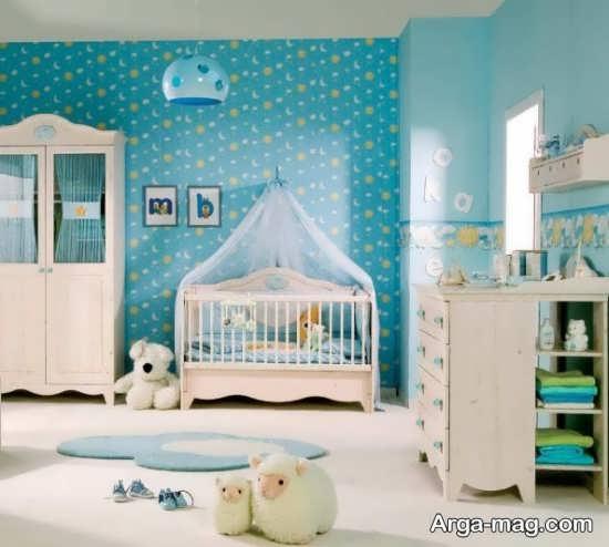 اتاق خواب کودکان با دکوراسیونی شکیل
