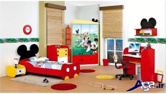دکوراسیون داخلی اتاق خواب کودک زیبا و شیک