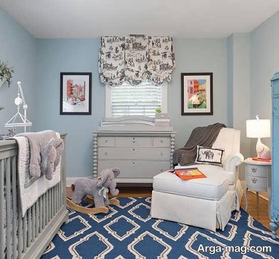 طراحی و رنگ آمیزی مدرن اتاق خواب کودکان