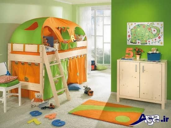 دکوراسیون زیبا و شیک اتاق خواب پسرانه و دخترانه