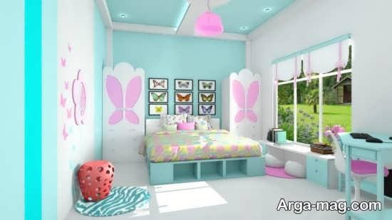دکوراسیون جذاب اتاق خواب کودک