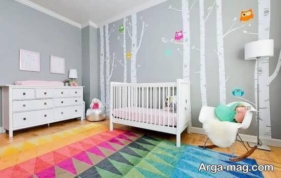 طراحی و رنگ آمیزی دیدنی اتاق خواب کودکان