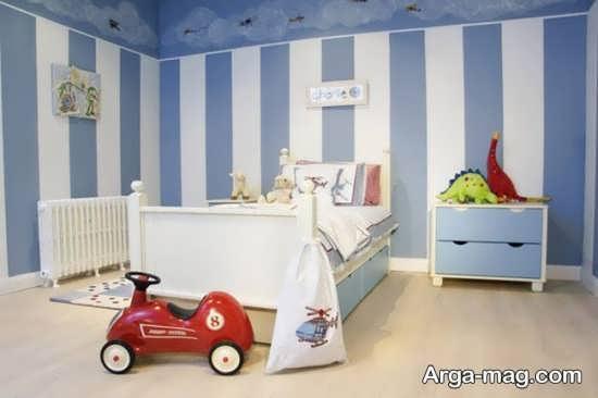 طراحی و رنگ آمیزی باحال اتاق خواب کودکان