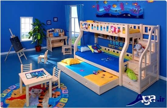 دکوراسیون داخلی اتاق خواب کودکان پسر