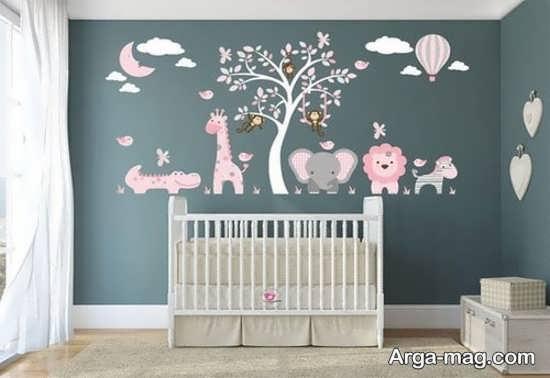 طراحی و رنگ آمیزی فوق العاده اتاق خواب کودکان