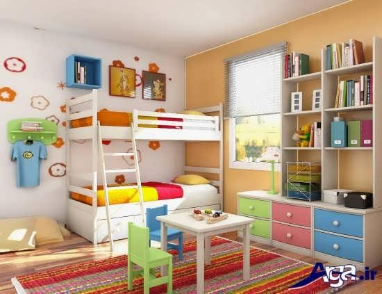 دکوراسیون شیک و زیبا اتاق کودک
