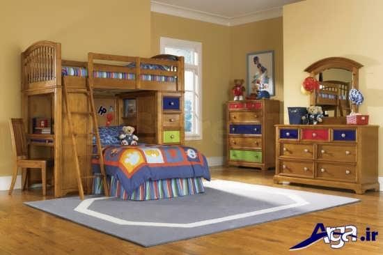 دکوراسیون داخلی اتاق خواب کودکان دختر و پسر