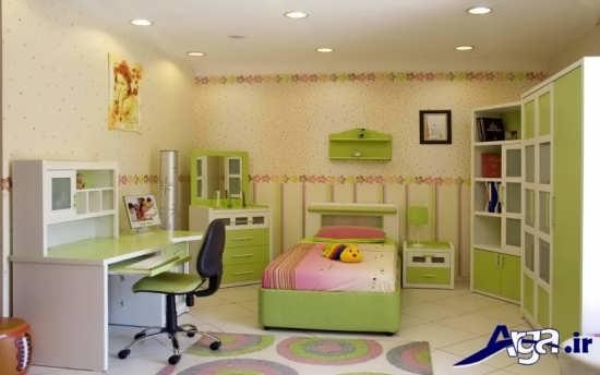 دکوراسیون داخلی زیبا و شیک اتاق کودک