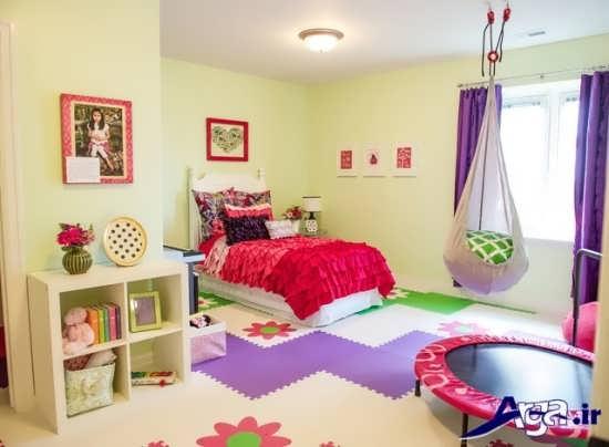 دکوراسیون فانتزی و کاربردی اتاق خواب کودکان