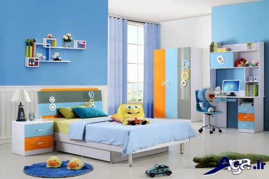 اتاق خواب کودک با دکوراسیون های زیبا و جدید