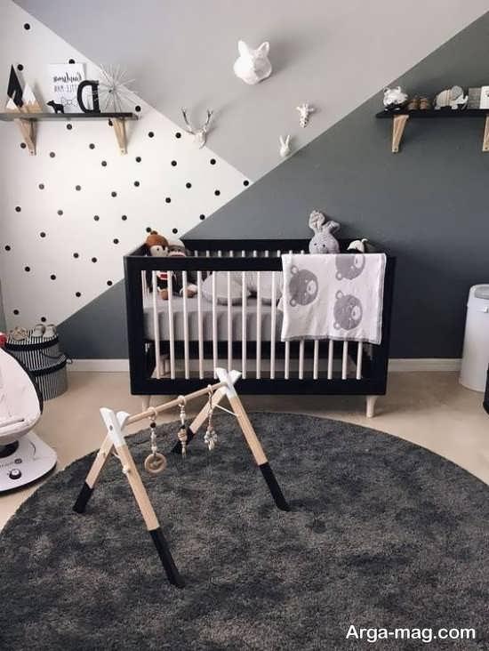 اتاق خواب کودکان با دکوراسیونی جالب