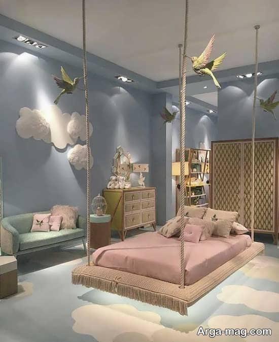 اتاق خواب کودکان با دکوراسیونی جذاب