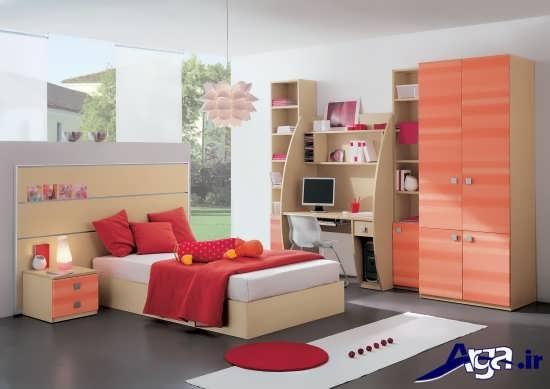 طراحی دکوراسیون زیبا و شیک برای اتاق خواب کودکان