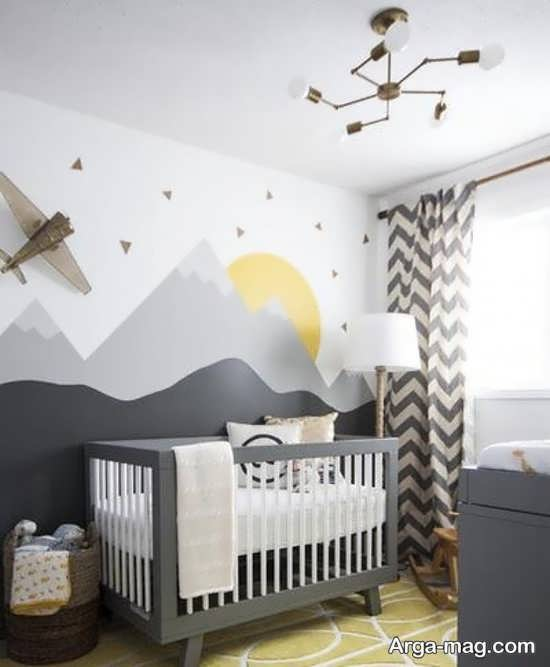 دکوراسیون شیک اتاق خواب کودک