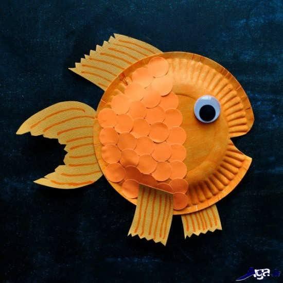 کاردستی ماهی برای کودکان
