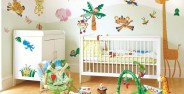 تزیین اتاق نوزاد پسر جدید