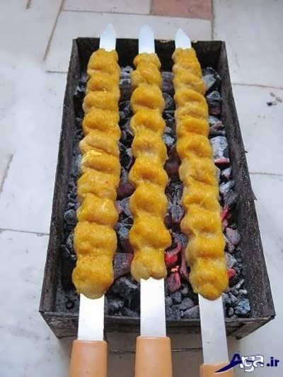 طرز تهیه کباب کوبیده مرغ در منزل