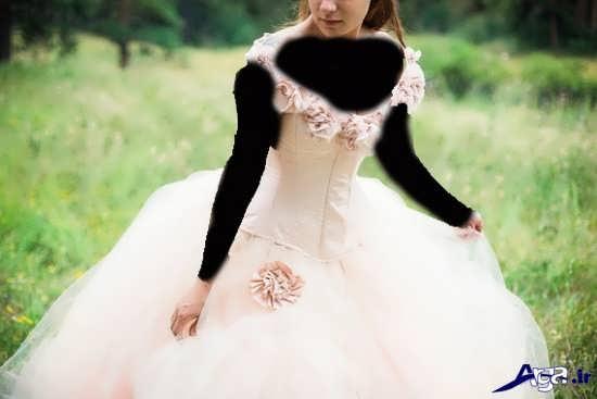 تصاویر زیبا و جذاب انواع مدل لباس عروس