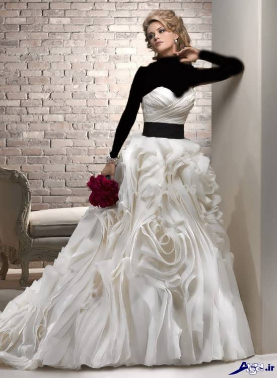 عکس های لباس عروس شیک فانتزی
