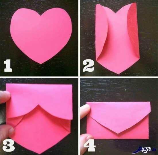 پاکت فانتری با کاغذ رنگی