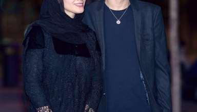 عکس های زیبا و جذاب مینا ساداتی و همسرش