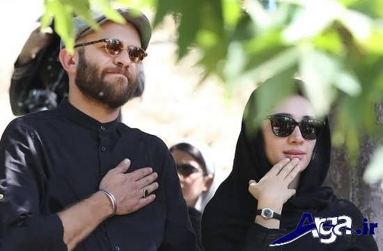 مجموعه عکس های مینا ساداتی و همسرش