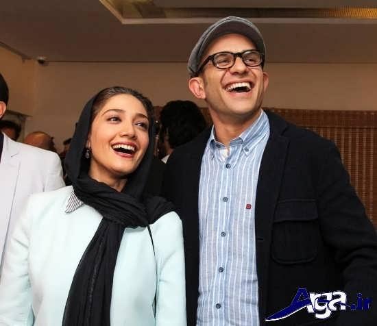 عکس های جدید و زیبای مینا ساداتی و همسرش