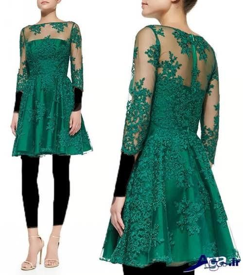 لباس مجلسی شیک و زیبا گیپور
