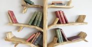 انواع زیبای مدل قفسه کتاب