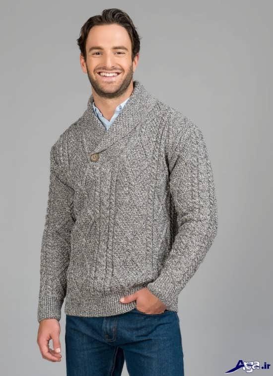انواع مدل های ژاکت بافتنی زیبای مردانه