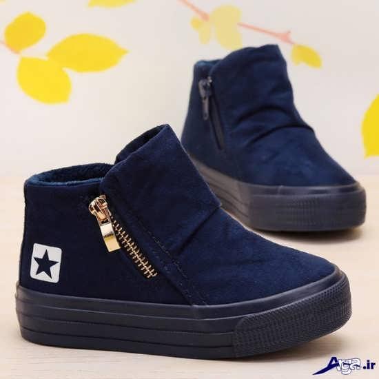 کفش پسرانه بچه گانه شیک و دوست داشتنی با انواع طرح های اسپرت و مجلسی... مدل کفش پسرانه بچه گانه اسپرت